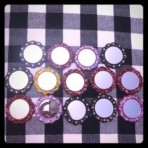 14 pier One Pocket Mirrors - giveaways, favors